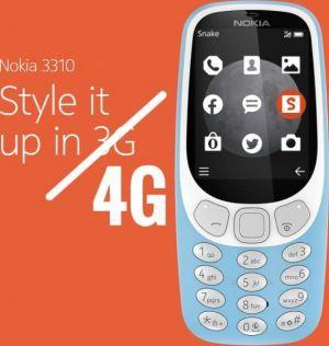 诺基亚 3310 4G